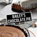Bailey's Chocolate Pie | Stress Baking