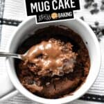 The Best Chocolate Mug Cake | Stress Baking