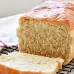 Homemade White Bread | stressbaking.com