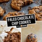 Paleo Chocolate Chip Cookies | Stress Baking