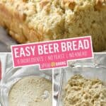 Easy Beer Bread | Stress Baking