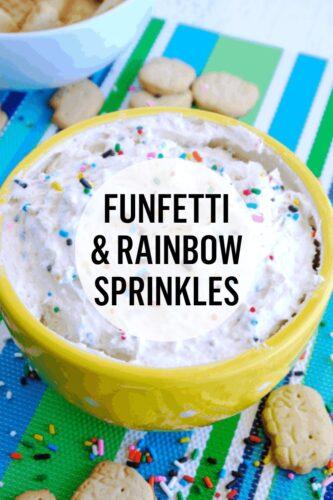 Funfetti & Rainbow Sprinkles