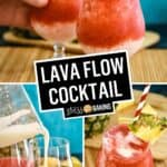Lava Flow Cocktail | Stress Baking