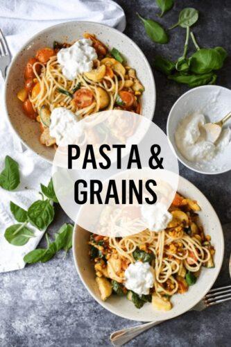 Pasta & Grains