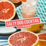 The Salty Dog Cocktail | Stress Baking