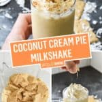 Coconut Cream Pie Milkshake | Stress Baking