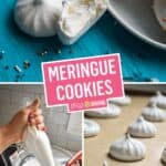 French Meringue Cookies | Stress Baking
