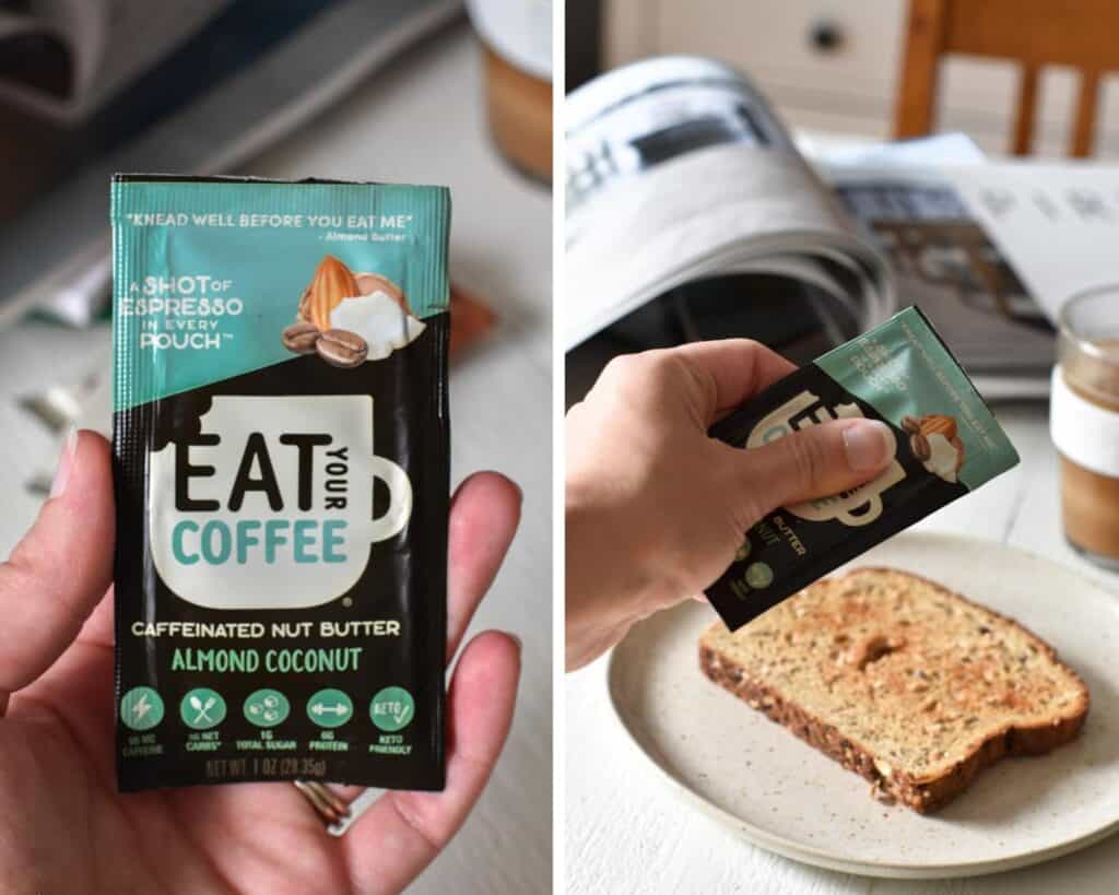 Eat Your Coffee Keto Nut Butter packet