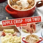 Apple Crisp for Two | Stress Baking