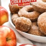 Baked Apple Cider Donuts | Stress Baking