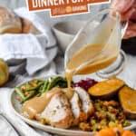 Thanksgiving Dinner for Two Pinterest image