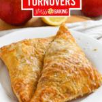 Apple Turnovers Pinterest image